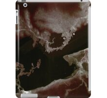 0010 - Brush and Ink - Left Bordered iPad Case/Skin