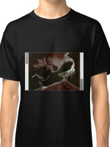 0010 - Brush and Ink - Left Bordered Classic T-Shirt