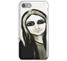 white mary iPhone Case/Skin