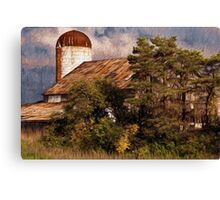 Clandestine Farm Canvas Print