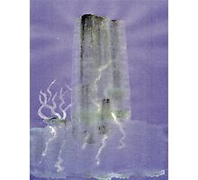 0012 - Brush and Ink - Monolith Photographic Print