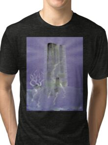 0012 - Brush and Ink - Monolith Tri-blend T-Shirt