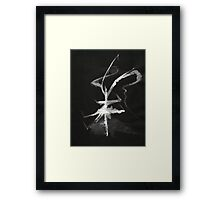 0013 - Brush and Ink - Sigil Framed Print