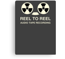 Reel To Reel ATR Canvas Print