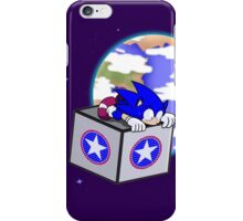 Hedgehogs in Space iPhone Case/Skin