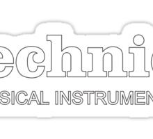 Technics Musical Instruments Sticker