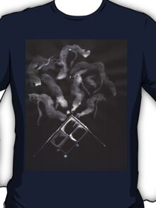 0014 - Brush and Ink - Slate T-Shirt