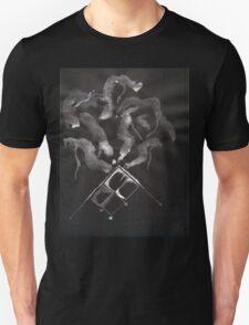 0014 - Brush and Ink - Slate Unisex T-Shirt