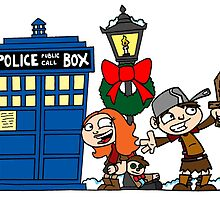 Raggedy-man Christmas! by joshatomic