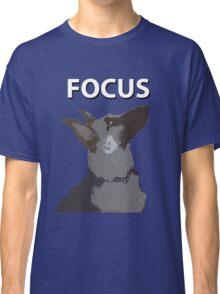 German Shepherd Focus Classic T-Shirt
