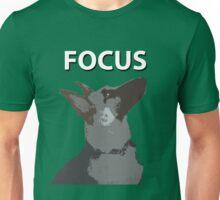 German Shepherd Focus Unisex T-Shirt