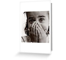 Don't cry Greeting Card