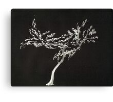 0016 - Brush and Ink - Tree Canvas Print