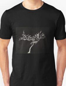 0016 - Brush and Ink - Tree Unisex T-Shirt