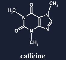 Caffeine Molecule Kids Clothes