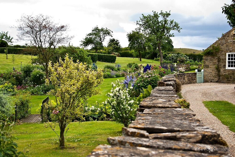 A Country Garden by Trevor Kersley