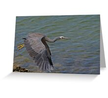 Power stroke. Greeting Card