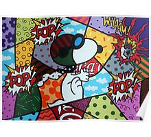 Snoopy POP Poster