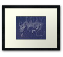 0018 - Brush and Ink - A Breath of Fire Framed Print