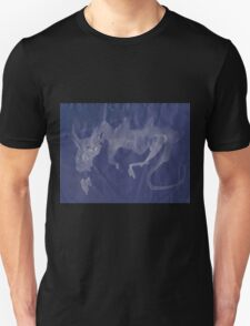 0018 - Brush and Ink - A Breath of Fire Unisex T-Shirt