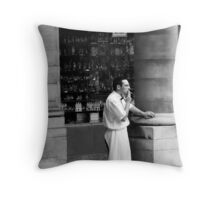 A Stolen Moment Throw Pillow