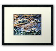 Milky Quartz Abstract Framed Print