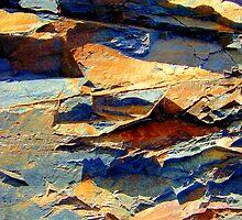 Jagged Rockscape by Kathie Nichols