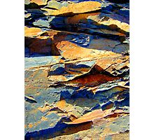 Jagged Rockscape Photographic Print
