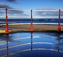 Seaside Symmetry by Glen Birkbeck