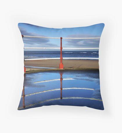Seaside Symmetry Throw Pillow