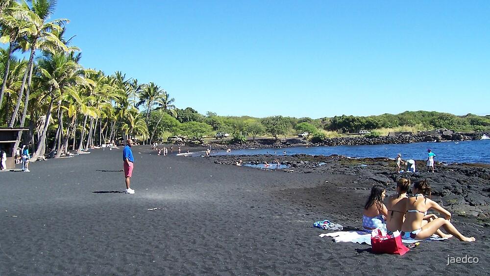 Black Sand All Around by jaedco