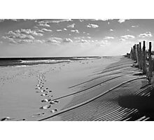 Shadows in the Sand Photographic Print