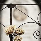 """"""" Flowers to Remember """" ... Graveyard Adornments #48  by Malcolm Heberle"""