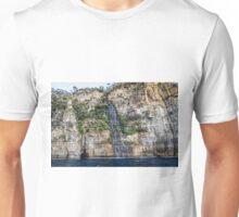 Tasman Island Waterfall, Tasmania Unisex T-Shirt