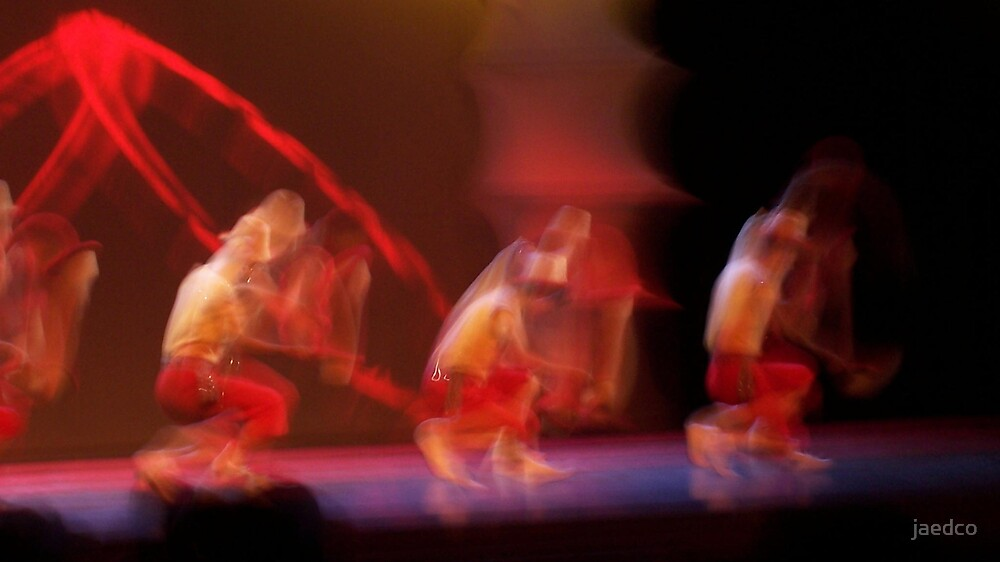 Chinese Dancers by jaedco