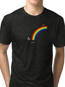Climbing the Rainbow Tri-blend T-Shirt