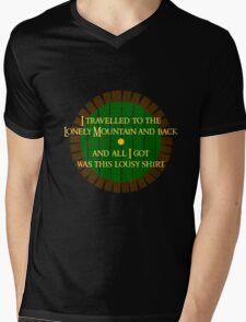 Lousy Hobbit Shirt Mens V-Neck T-Shirt