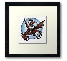 Beaureguardian of Dragons Framed Print
