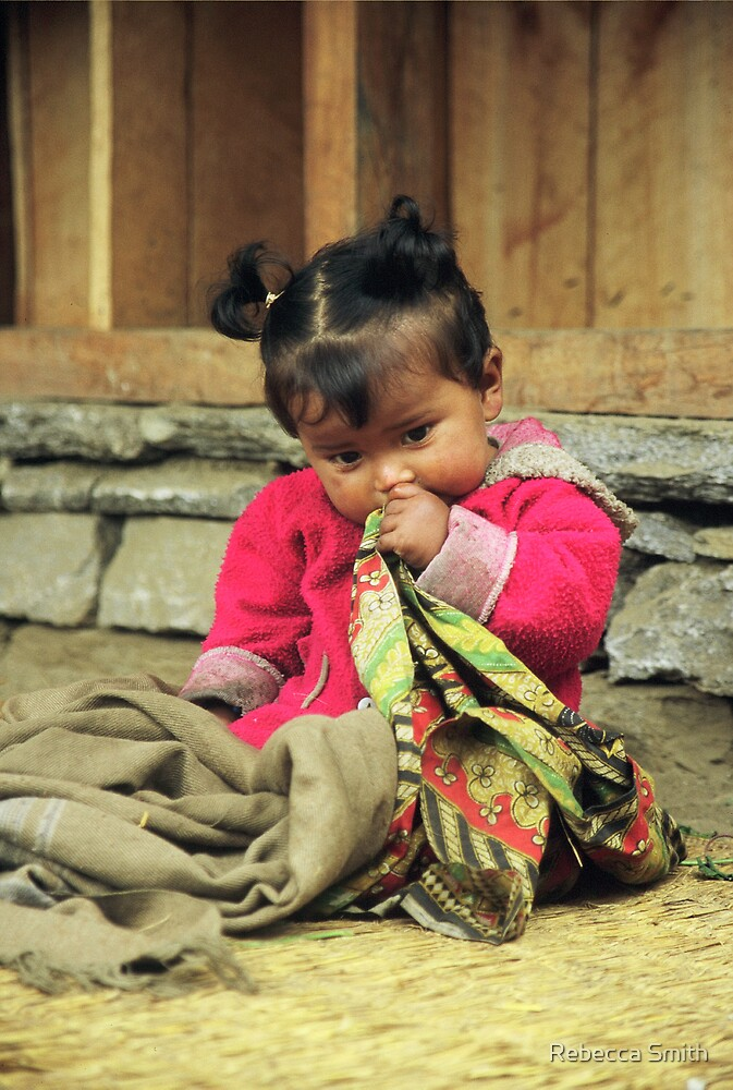Nepal Girl by Rebecca Smith
