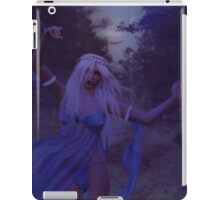 Woman in the foggy forest 2 iPad Case/Skin