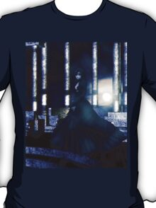 Woman on balcony 2 T-Shirt