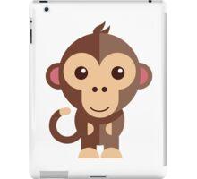Cute cartoon monkey iPad Case/Skin