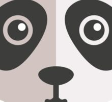 Funny cartoon panda Sticker