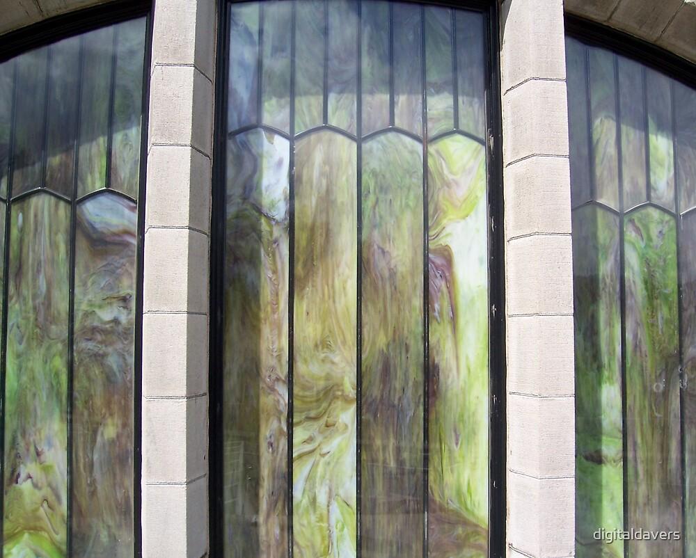 Marbled Windows by digitaldavers