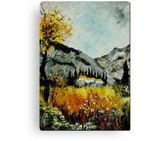 In Provence South of France  Canvas Print