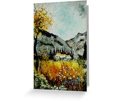 In Provence South of France  Greeting Card