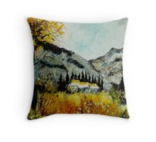 In Provence South of France  Throw Pillow