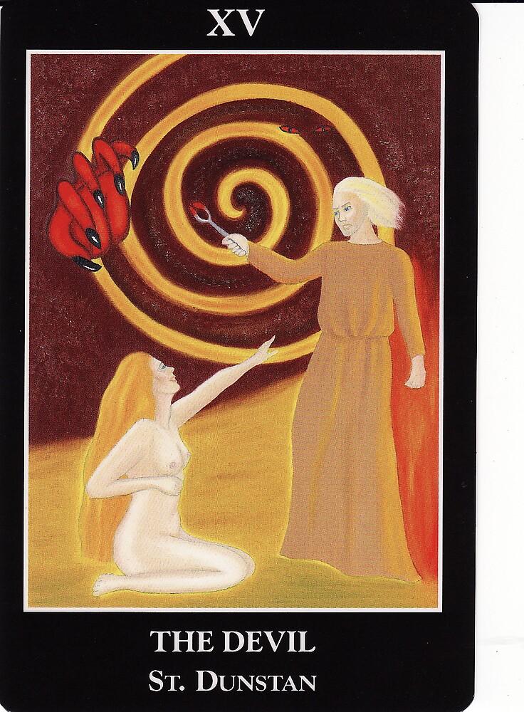 The Devil - St Dunstan by Lisa Tenzin-Dolma
