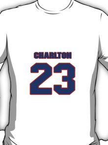 National football player Ike Charlton jersey 23 T-Shirt