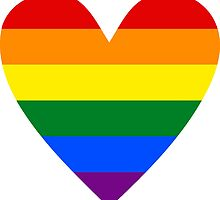 LBGT heart by Margotte
